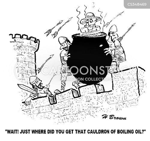 siege tactics cartoon