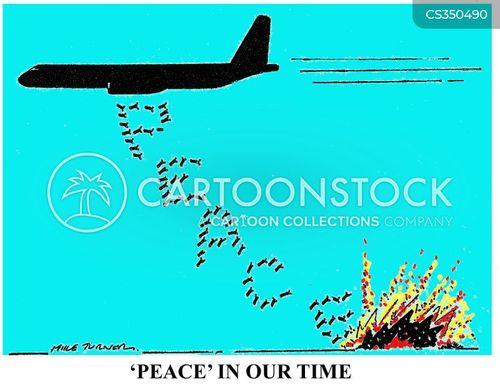bombing campaigns cartoon