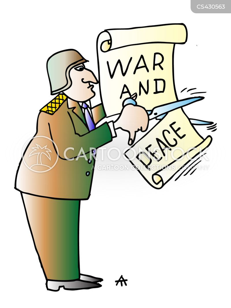 war mongerers cartoon