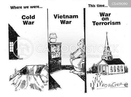 religious extremism cartoon
