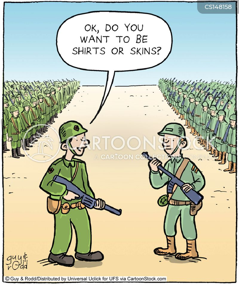 Military Training Exercise Cartoons and Comics - funny