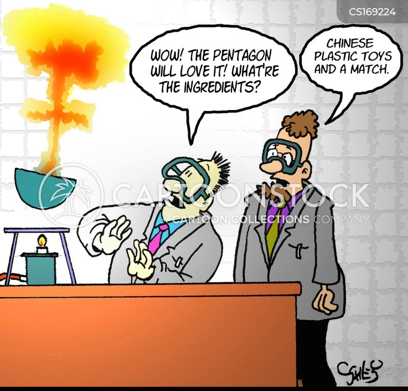 explosive cartoon