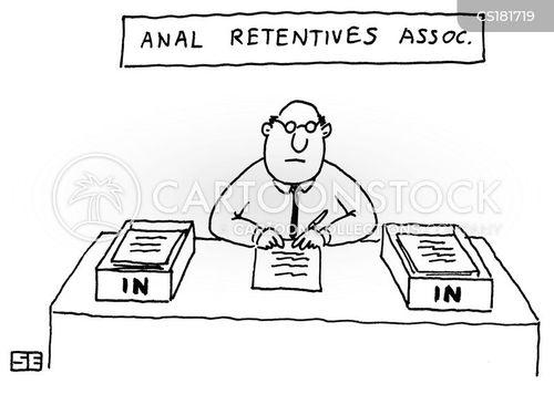 Anal retentive psychology