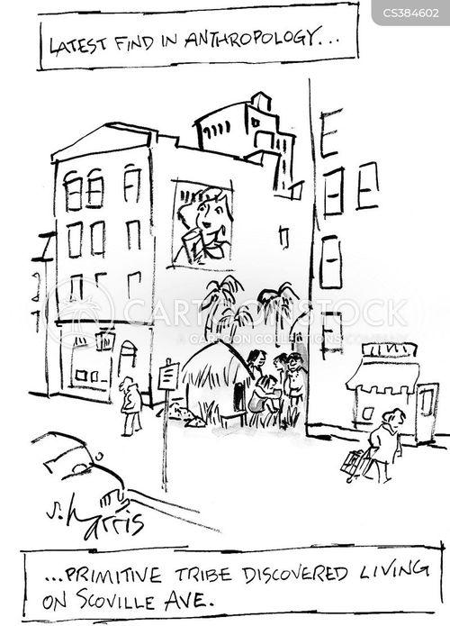 primitive people cartoon