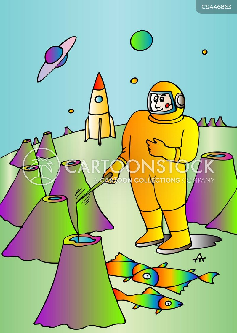 life on other planets cartoon