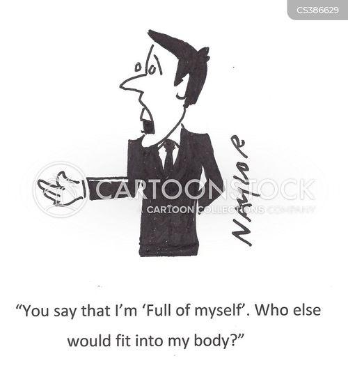 full of yourself cartoon