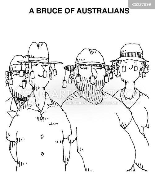 australasia cartoon