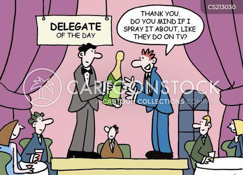 champagne bottle cartoon