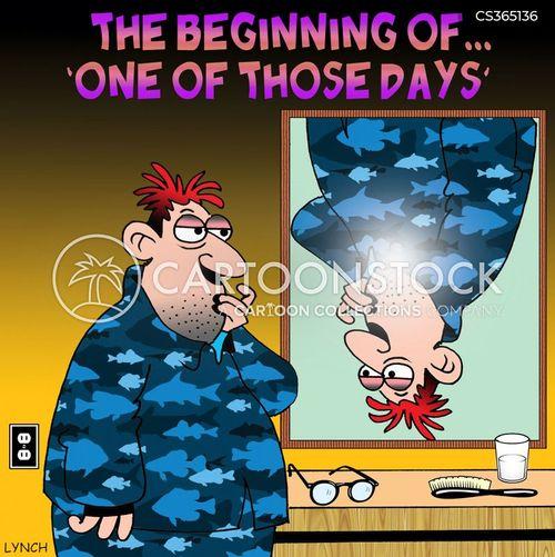 odd day cartoon