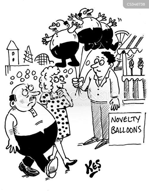 novelty balloon cartoon