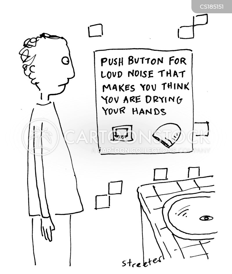going to the toilet cartoon