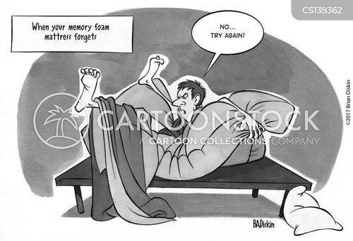 comfortable mattresses cartoon