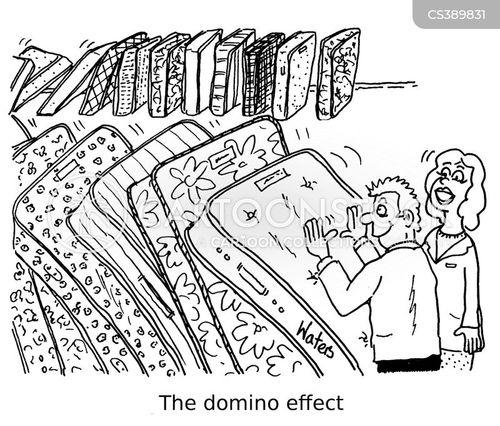 bed store cartoon