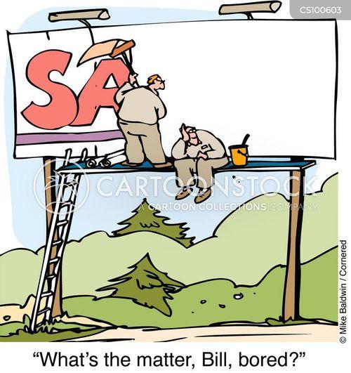 advertizment cartoon