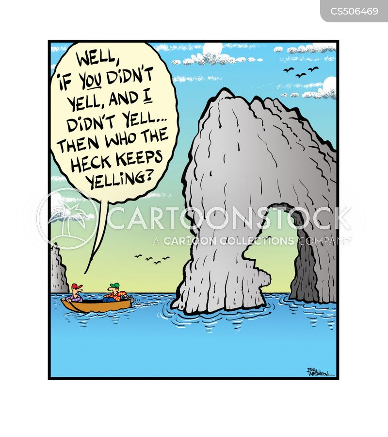 rock formation cartoon