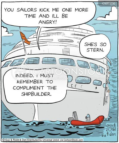 shipbuilding cartoon