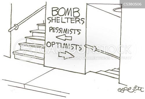 bomb shelter cartoon