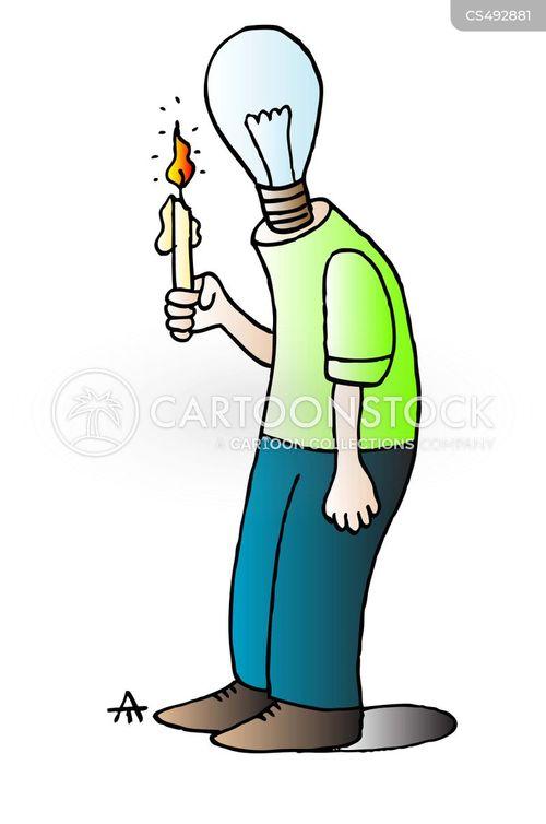 lightbulb moments cartoon