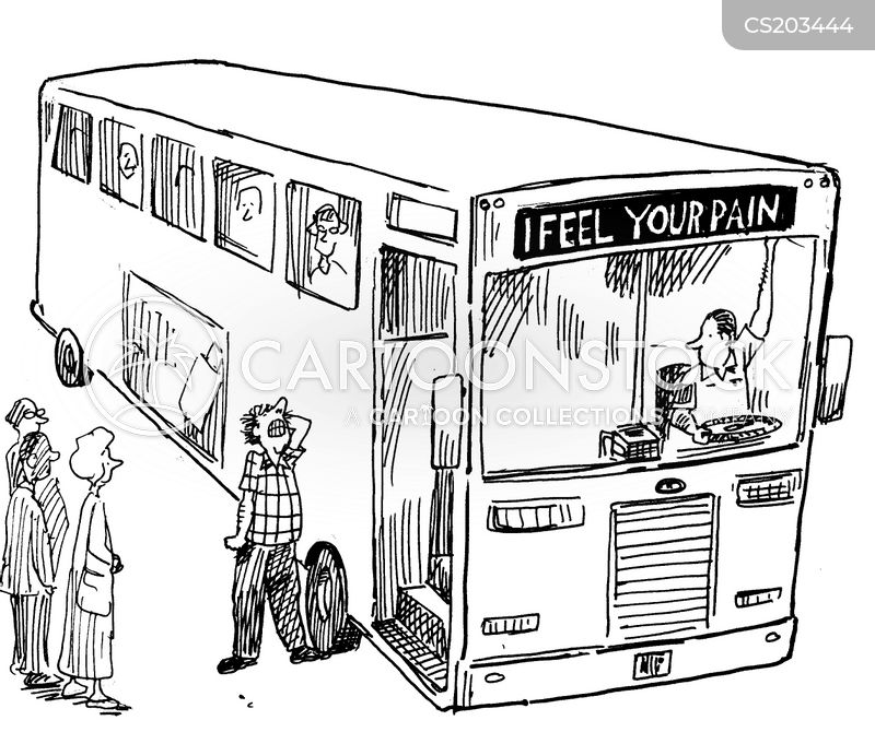 Bus Drivers Cartoon 7 of 59