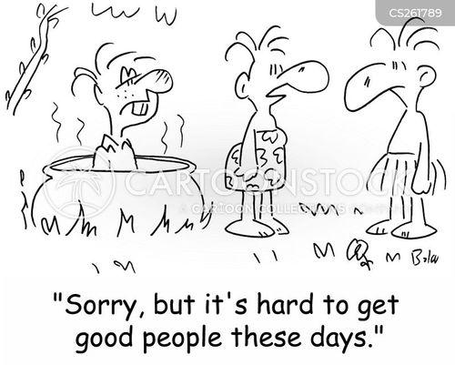 good people cartoon