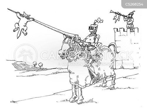 flagpoles cartoon