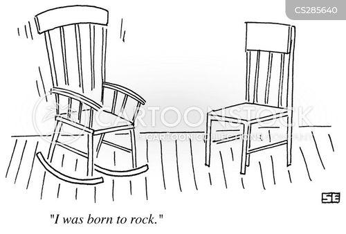 Born To Rock Cartoon 2 Of