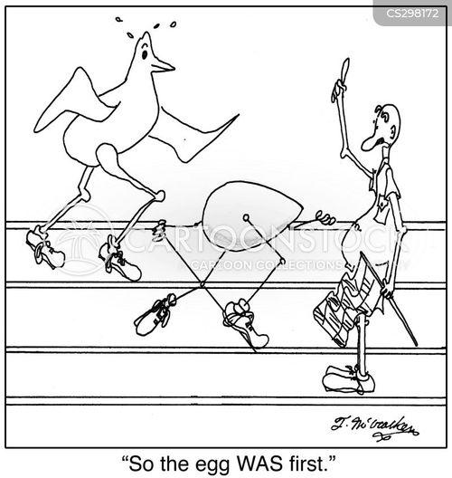 track meet cartoon