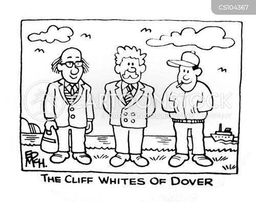 seaside towns cartoon