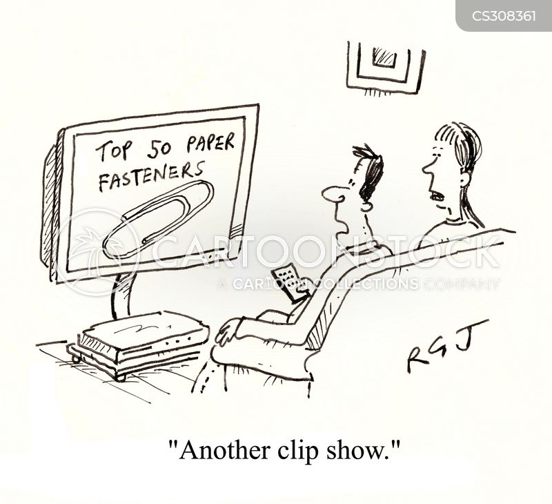 clips cartoon