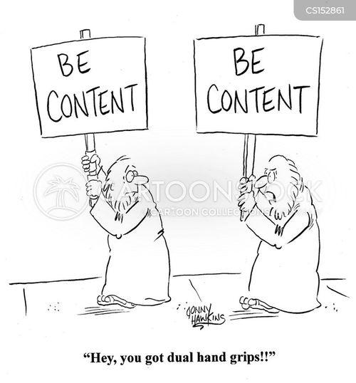 be content cartoon
