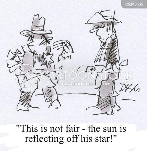 not fair cartoon