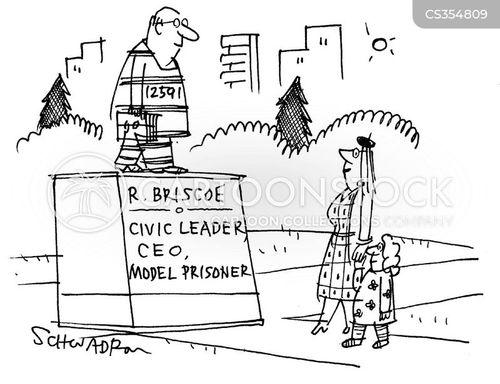 erstwhile antagonists cartoon