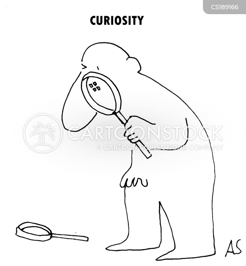 magnifying glasses cartoon