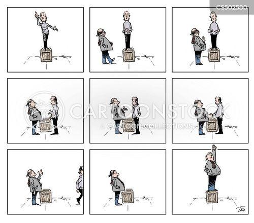free expression cartoon