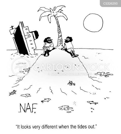 ship wreak cartoon
