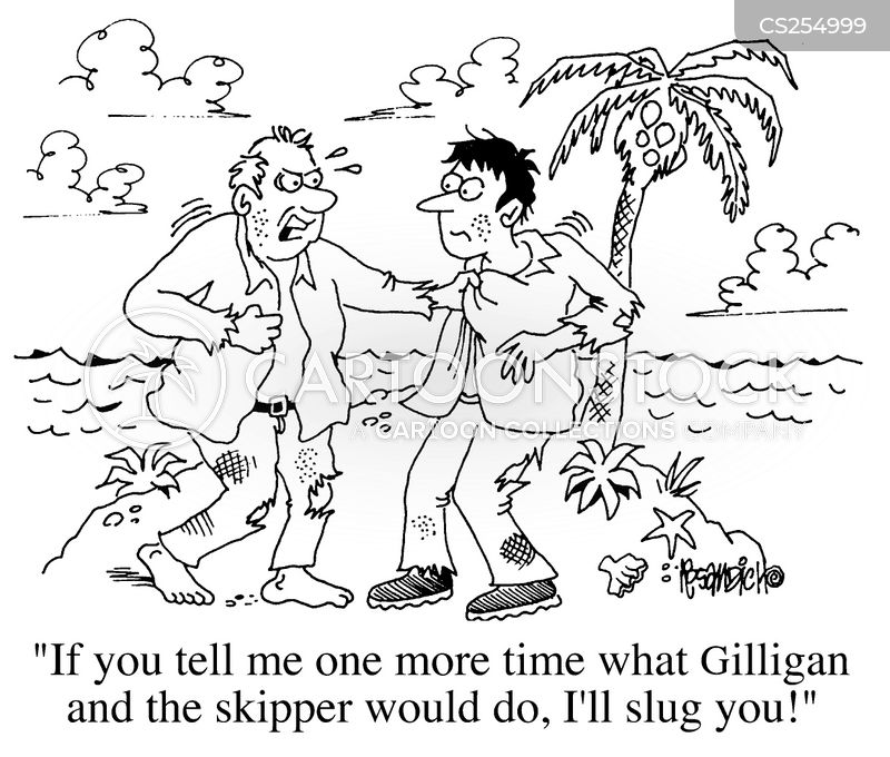 shipwreaked cartoon