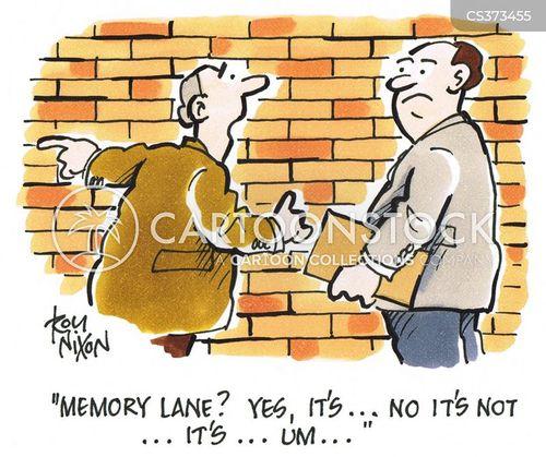 memory lanes cartoon