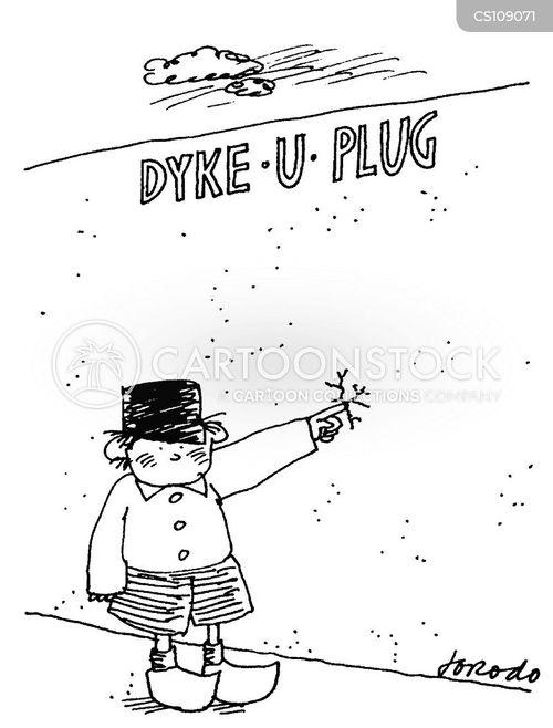 dutch boy cartoon