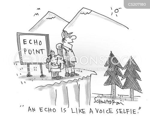 echo cartoon