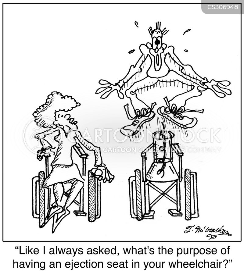 ejection seats cartoon