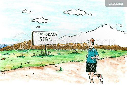 temporary cartoon