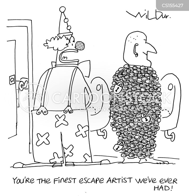 Escape Artists cartoons, Escape Artists cartoon, funny, Escape Artists picture, Escape Artists pictures, Escape Artists image, Escape Artists images, Escape Artists illustration, Escape Artists illustrations