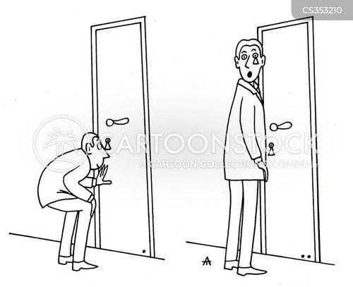 eavesdroppers cartoon