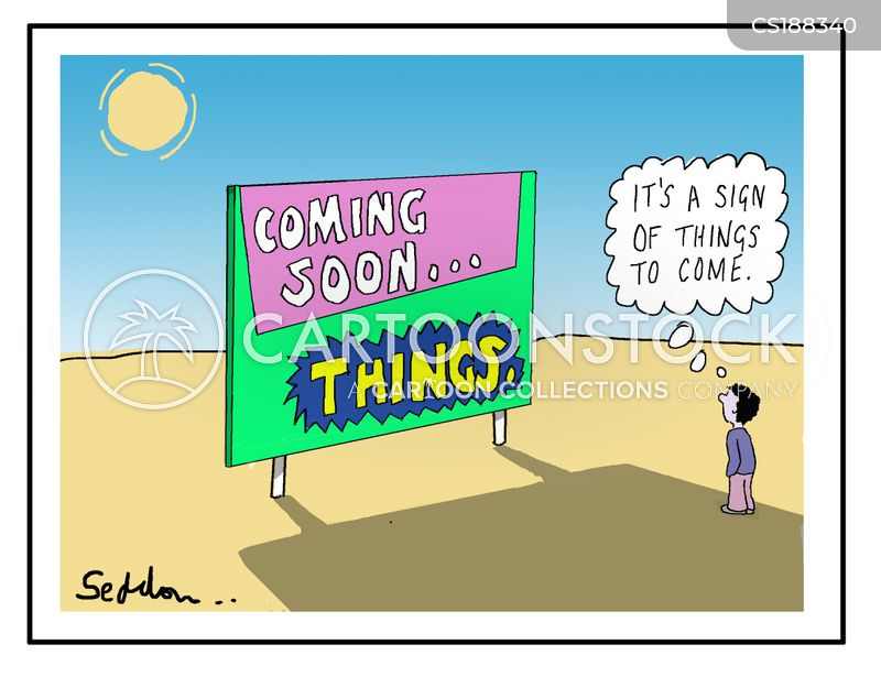 bill board cartoon