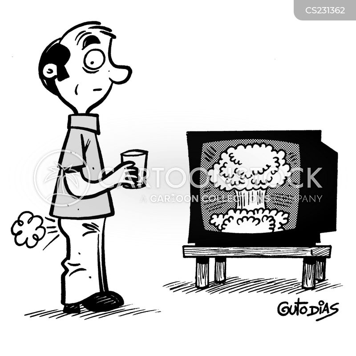 atomic bombs cartoon
