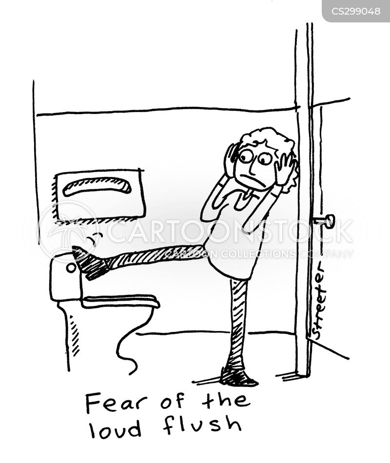 unusual phobias cartoon