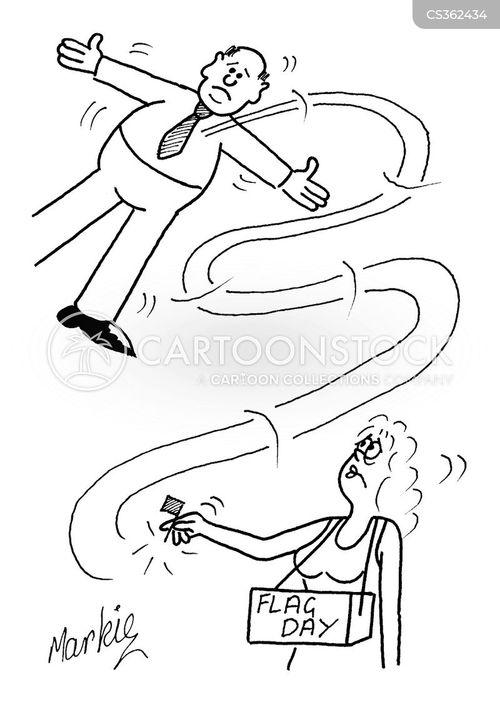 charites cartoon