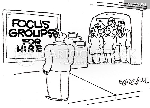 focus group cartoon
