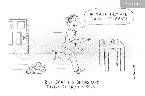 mental exercise cartoon