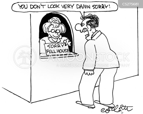 happy customer cartoon